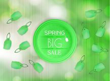 Spring sale  background Royalty Free Stock Images
