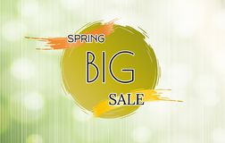 Spring sale  background Stock Photos