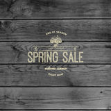 Spring sale badges logos and labels for any use Stock Photos