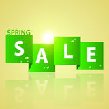 Spring Sale Banner Royalty Free Stock Photos