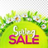 Spring Sale Banner Stock Photos