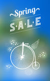 Spring sale banner 003 Stock Image