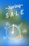 Spring sale banner 003 Stock Image