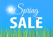 Spring sale banner. Vector illustration for your design EPS10 Royalty Free Stock Image