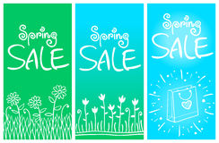 Spring Sale Banners 001 Royalty Free Stock Photo