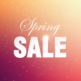 Spring sale Royalty Free Stock Photography