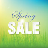 Spring  sale Stock Photography