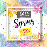 Spring Sale Stock Photos
