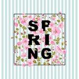 Spring sale concept. Stock Photo