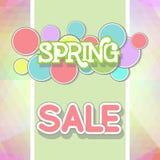 Spring Sale Design Illustration. Spring Sale Design. Colorful Vector Illustration eps10 Royalty Free Stock Photography