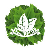Spring sale Royalty Free Stock Photos