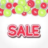 Spring Sale Design Vector. Spring Sale Design. Colorful Vector Illustration eps10 Stock Image