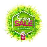 Spring sale royalty free illustration