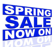 Spring Sale Means At This Time And Closeout Royalty Free Stock Images
