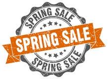 Spring sale stamp. Sign. seal Stock Photos