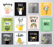 Free Spring Sale Vector Illustration Royalty Free Stock Images - 88485029