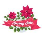 Spring sale Stock Photo