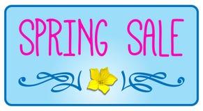 Spring sale vector Royalty Free Stock Photos