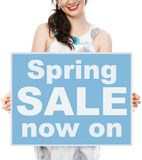 Spring Sale Royalty Free Stock Photos