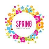 Spring Sales Background Stock Image