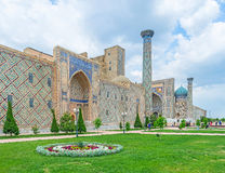 The spring in Samarkand Royalty Free Stock Images