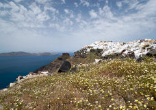 Spring Santorini Royalty Free Stock Images