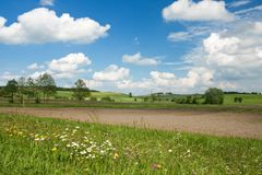 Spring scenery in Bavaria Stock Photography