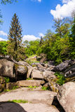 Spring scenery Park in Uman Royalty Free Stock Images