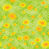 Spring seamless floral pattern Stock Photo