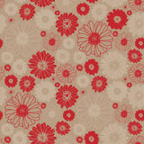 Spring seamless flower pattern Royalty Free Stock Photos