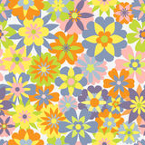 Spring seamless pattern Stock Image