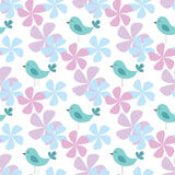 Spring seamless pattern Stock Images