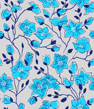 Spring seamless pattern stock illustration