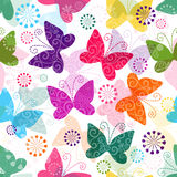 Spring vivid seamless pattern Royalty Free Stock Images