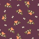 Spring seamless pattern Royalty Free Stock Photography