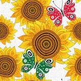 Spring seamless pattern stock illustration