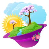 Spring season Royalty Free Stock Images