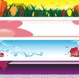 Spring season banner Stock Photography