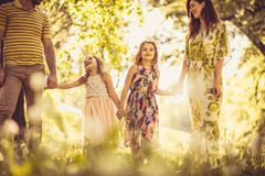 Spring season is the best time of year for family. Beauty in nature stock photos