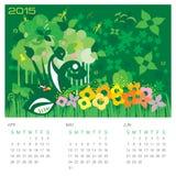 Spring Season - Concept Calendar Stock Image