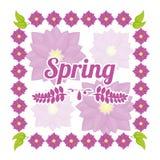 Spring season design Stock Image