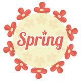 Spring season design Royalty Free Stock Photo