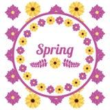 Spring season design Royalty Free Stock Image