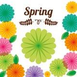 Spring season design Royalty Free Stock Images