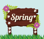 Spring season design Royalty Free Stock Photography