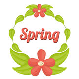 Spring season design Stock Images