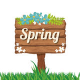 Spring season design Royalty Free Stock Photo