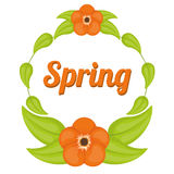 Spring season design Stock Photo