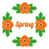 Spring season design Royalty Free Stock Image