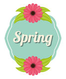 Spring season design Stock Image